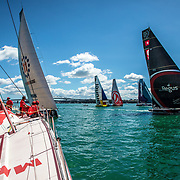Auckland stopover, The New Zealand Herald In-Port Race on board MAPFRE. 10 March, 2018.