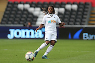Renato Sanches of Swansea city in action.  Premier league match, Swansea city v Watford at the Liberty Stadium in Swansea, South Wales on Saturday 23rd September 2017.<br /> pic by  Andrew Orchard, Andrew Orchard sports photography.
