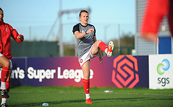 Bristol City Women warm up prior to kick-off - Mandatory by-line: Nizaam Jones/JMP - 27/10/2019 - FOOTBALL - Stoke Gifford Stadium - Bristol, England - Bristol City Women v Tottenham Hotspur Women - Barclays FA Women's Super League
