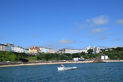 North Beach, Tenby, Pembrokeshire, South Wales July 2021