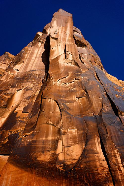 Native American Petroglyph Wall near Moab, Utah. ©justinalexanderbartels.com