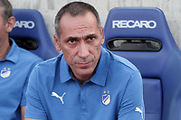 Fotball<br /> Foto: imago/Digitalsport<br /> NORWAY ONLY<br /> <br /> Giorgos Donis coach of Apoel during their Champions League third qualifying round second leg against HJK Helsinki at GSP stadium in Nicosia, Cyprus, Tuesday, August 6, 2014 APOEL vs HJK Helsinki Champions League 2014/2015