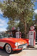 1957 Corvette, Hackberry General Store, Route 66, Hackberry, AZ