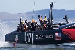 AC34 Match / ETNZ vs OTUSA DAY 15 Final Match / Race 19 / 34th America's Cup / ORACLE TEAM USA / San Francisco (USA) / 25-09-2013