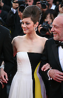 Actress, Marion Cotillard, Actor, James Caan at the Blood Ties film gala screening at the Cannes Film Festival Monday 20th May 2013