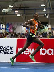 New Balance Indoor Grand Prix track meet: Gebrhiwet, Ethiopia, wins men's 3000 meters