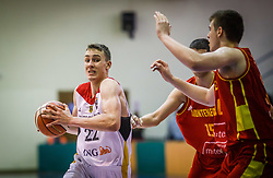 Wagner  Franz of Germany during basketball match between National teams of Germany and Montenegro in the 11th place Classifications of FIBA U18 European Championship 2019, on August 4, 2019 in Portaria Hall, Volos, Greece. Photo by Vid Ponikvar / Sportida