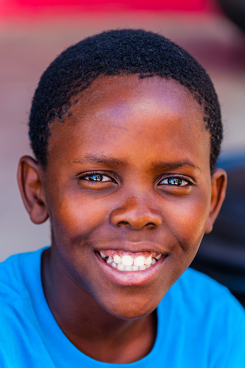Boy, Orlando Towers, Soweto, Johannesburg, South Africa.
