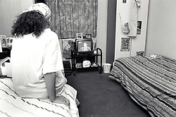 Karibu House offers temporary accommodation for single men and women aged 18+ who are homeless or at risk of becoming homeless, including refugees. Nottingham UK 1992
