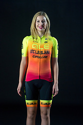 Maaike Boogaard of Alé BTC Ljubljana, professional women cycling team, on November 15, 2019 in Ljubljana, Slovenia. Photo by Sportida