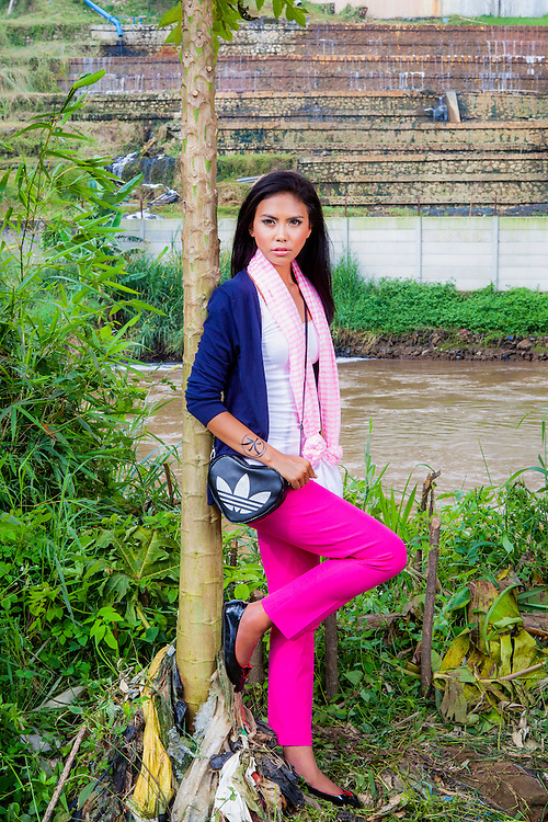 Fashion Shoot at Citarum River