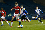 1-0, GOAL scored by  Callum Paterson of Sheffield Wednesday  during the EFL Sky Bet Championship match between Sheffield Wednesday and Middlesbrough at Hillsborough, Sheffield, England on 29 December 2020.