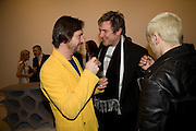 Mark Newson and Simon Le Bon, Exhibition of work by Marc Newson at the Gagosian Gallery, Davies st. London. afterwards at Mr. Chow, Knightsbridge. 5 March 2008.  *** Local Caption *** -DO NOT ARCHIVE-© Copyright Photograph by Dafydd Jones. 248 Clapham Rd. London SW9 0PZ. Tel 0207 820 0771. www.dafjones.com.