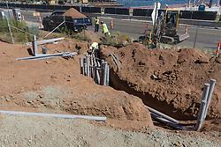 Boathouse at Canal Dock Phase II | State Project #92-570/92-674 Construction Progress Photo Documentation 03 on 16 September 2016. Image No. 02 Underground Utilities