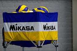 17-03-2013 VOLLEYBAL: EK KWALIFICATIE NEDERLAND - SLOWAKIJE: AMSTELVEEN<br /> Het Nederlands politieteam plaatst zich voor het EK door Slowakije met 3-0 te verslaan / Mikasa ballen<br /> ©2013-FotoHoogendoorn.nl