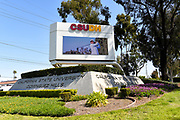 California State University Dominguez Hill Monument and Signage
