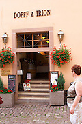 winery wine shop riquewihr alsace france