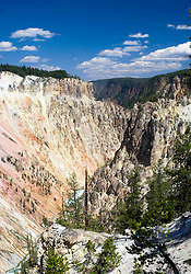 Grand Canyon of the Yellowstone River,Yellowstone National Park