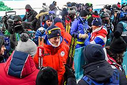 February 12, 2018 - Pyeongchang, SOUTH KOREA - 180212 Tarjei Bø of Norway after the Men's Biathlon 12,5km Pursuit during day three of the 2018 Winter Olympics on February 12, 2018 in Pyeongchang..Photo: Jon Olav Nesvold / BILDBYRÃ…N / kod JE / 160157 (Credit Image: © Jon Olav Nesvold/Bildbyran via ZUMA Press)