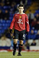 Photo: Glyn Thomas.<br />Birmingham City v Manchester United. Carling Cup.<br />20/12/2005.<br /> Manchester United's Giuseppe Rossi.
