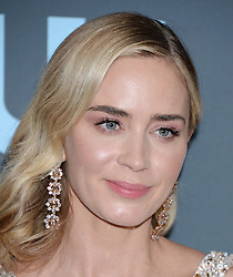 24th Annual Critics Choice Awards - Press Room. 13 Jan 2019 Pictured: Emily Blunt. Photo credit: TPI/MEGA TheMegaAgency.com +1 888 505 6342