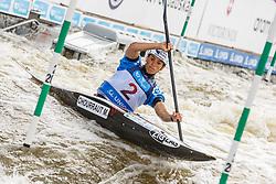 Chourraut Maialen (ESP) competes in Semi-Finals during Day 3 of 2018 ECA Kayak - Canoe Slalom European Championships, on June 3rd, 2018 in Troja , Prague, Czech Republic. Photo by Grega Valancic / Sportida
