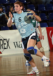 Ana-Mihaela Ciora of Ptuj at handball game ZRK Mercator Tenzor Ptuj vs RK Olimpija PLK in match for the third place of Slovenian Handball Cup,  on April 6, 2008 in Arena Golovec, Celje, Slovenia. Ptuj won the game 32:22 and placed third.  (Photo by Vid Ponikvar / Sportal Images)