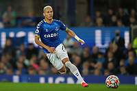 Football - 2021 / 2021 Premier League - Everton vs Burnley - Goodison Park - Monday 13th September 2021<br /> <br /> <br /> Everton's Richarlison in action during todays match  <br /> <br /> <br /> <br /> Credit COLORSPORT/Terry Donnelly