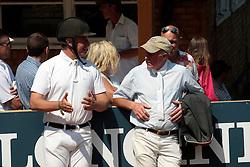 Bost Roger Yves (FRA), Whitaker John (GBR)<br /> The Longines Royal International Horse Show<br /> Hickstead 2011<br /> © Hippo Foto - Beatrice Scudo