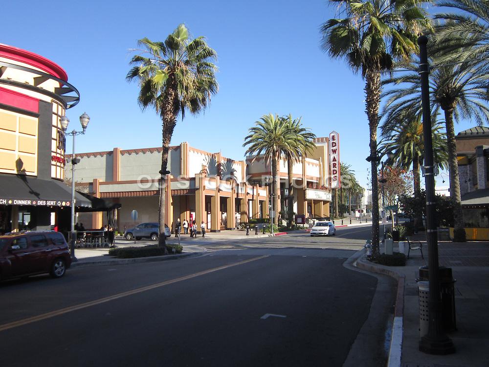 Downtown Brea on Birch Street
