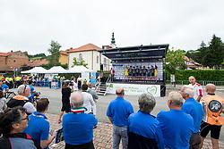 Team Nippo Vinni Fantini Europa Ovini prior to 1st Stage of 25th Tour de Slovenie 2018 cycling race between Lendava and Murska Sobota (159 km), on June 13, 2018 in  Slovenia. Photo by Matic Klansek Velej / Sportida