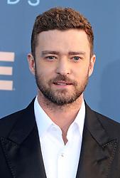 Justin Timberlake, The 22nd Annual Critics Choice Awards at Barker Hangar (Santa Monica, CA.)