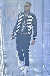 Milan Fashion Week Fashion Woman Spring Summer 2019.Philipp Plein fashion show.   Chris Brown