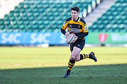Newport's Matt O'Brien in action - Mandatory by-line: Craig Thomas/Replay images - 04/02/2018 - RUGBY - Rodney Parade - Newport, Wales - Newport v Ebbw Vale - Principality Premiership