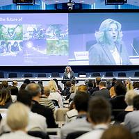 "Brussels, Belgium - 25 September 2017 <br /> ""The Future of Finances"" conference.<br /> Corina Cretu, European Commissioner for Regional Policy<br /> Photo: European Commission / Ezequiel Scagnetti"