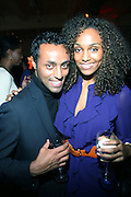 r to l: Geila Bekele and Guest at the Common Celebration Capsule Line Launch with Softwear by Microsoft at Skylight Studios on December 3, 2008 in New York City..Microsoft celebrates the launch of a limited-edition capsule collection of SOFTWEAR by Microsoft graphic tees designed by Common. The t-shirt  designs. inspired by the 1980's when both Microsoft and and Hip Hop really came of age, include iconography that depicts shared principles of the technology company and the Hip Hop Star.