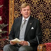 NLD/Den Haag/20170919 - Prinsjesdag 2017, Koning Willem Alexander