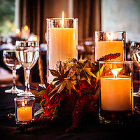Wedding centerpiece photography by Dan Busler Photography