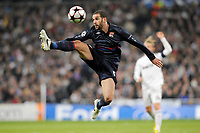 FOOTBALL - UEFA CHAMPIONS LEAGUE 2009/2010 - 1/8 FINAL - 2ND LEG - REAL MADRID v OLYMPIQUE LYONNAIS - 10/03/2010 - PHOTO JEAN MARIE HERVIO / DPPI - LISANDRO LOPEZ (OL)
