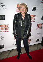 Elaine Page at the Message in a Bottle press night , Peacock Theatre, London