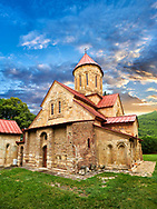 """Picture & image of the  Betania (Bethania ) Monastery of the Nativity of the Mother of God Georgian Orthodox complex, Georgia.<br /> <br /> Betania (Bethania ) Monastery of the Nativity of the Mother of God is a 11th century church with a cruciform ground plan and dome in the style of Georgian Orthodox church  architecture of the """"Golden Age"""" of the Kingdom of Georgia. .<br /> <br /> Visit our MEDIEVAL PHOTO COLLECTIONS for more   photos  to download or buy as prints https://funkystock.photoshelter.com/gallery-collection/Medieval-Middle-Ages-Historic-Places-Arcaeological-Sites-Pictures-Images-of/C0000B5ZA54_WD0s<br /> <br /> Visit our REPUBLIC of GEORGIA HISTORIC PLACES PHOTO COLLECTIONS for more photos to browse, download or buy as wall art prints https://funkystock.photoshelter.com/gallery-collection/Pictures-Images-of-Georgia-Country-Historic-Landmark-Places-Museum-Antiquities/C0000c1oD9eVkh9c"""
