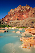 Little Colorado River confluence with the Colorado River
