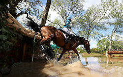 Izzy Taylor on Call Me Maggie May during day four of the 2019 Mitsubishi Motors Badminton Horse Trials at The Badminton Estate, Gloucestershire.