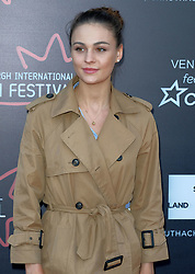 Edinburgh International Film Festival, Thursday, 21st June 2018<br /> <br /> JUROR PHOTOCALL<br /> <br /> Pictured: Sophie Skelton<br /> <br /> (c) Aimee Todd | Edinburgh Elite media