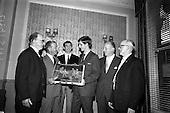1966 - Castrol (Ireland) Ltd. presentation of Castrol Trophy to Home Farm at the Central Hotel