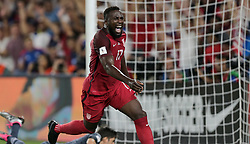 October 6, 2017 - Orlando, Florida, United States - Orlando, FL - Friday Oct. 06, 2017: Jozy Altidore scores during a 2018 FIFA World Cup Qualifier between the men's national teams of the United States (USA) and Panama (PAN) at Orlando City Stadium. (Credit Image: © John Dorton/ISIPhotos via ZUMA Wire)