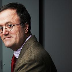 PARIS, FRANCE. FEBRUARY 22, 2012. Jacques de Heere, Acome's CEO, a telecommunications' cables manufacturer (shot in his office). Photo: Antoine Doyen