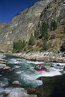 Rafting the Middle Fork of the Salmon River.  Frank Church-River of No Return Wilderness, Idaho.