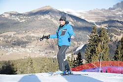 14.12.2016, Saslong, St. Christina, ITA, FIS Ski Weltcup, Groeden, Abfahrt, Herren, 1. Training, Streckenbesichtigung, im Bild Markus Waldner (FIS Chef Renndirektor Weltcup Ski Alpin Herren) // Markus Waldner Chief Race Director World Cup Ski Alpin Men of FIS during the course inspection for the 1st practice run of men's Downhill of FIS Ski Alpine World Cup at the Saslong race course in St. Christina, Italy on 2016/12/14. EXPA Pictures © 2016, PhotoCredit: EXPA/ Johann Groder