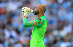 Chelsea goalkeeper Willy Caballero during the Community Shield match at Wembley Stadium, London.